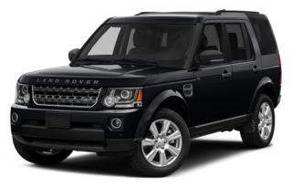 3/4 Front Glamour 2014 Land Rover LR4