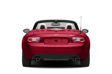 Rear Profile  2014 Mazda MX-5 Miata