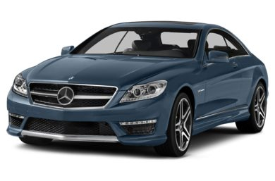 3/4 Front Glamour 2014 Mercedes-Benz CL65 AMG