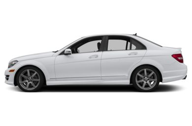 90 Degree Profile 2014 Mercedes-Benz C350