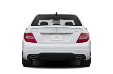 Rear Profile  2014 Mercedes-Benz C350