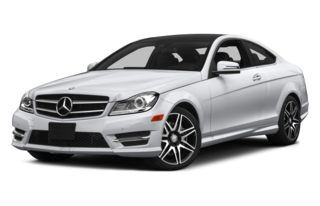 3/4 Front Glamour 2014 Mercedes-Benz C350