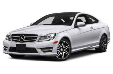 3/4 Front Glamour 2015 Mercedes-Benz C350