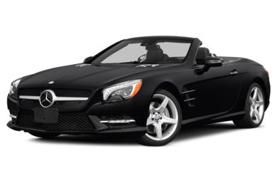 3/4 Front Glamour 2014 Mercedes-Benz SL550