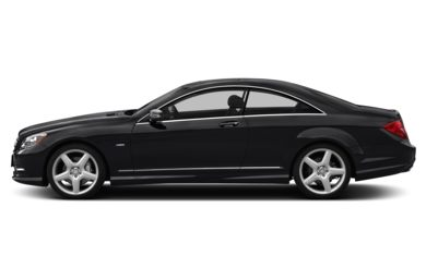 90 Degree Profile 2014 Mercedes-Benz CL550