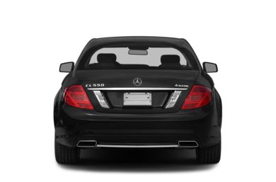 Rear Profile  2014 Mercedes-Benz CL550