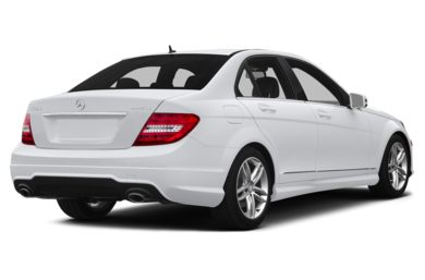 3/4 Rear Glamour  2014 Mercedes-Benz C300
