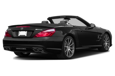3/4 Rear Glamour  2014 Mercedes-Benz SL63 AMG