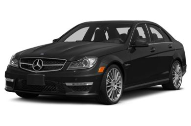 3/4 Front Glamour 2014 Mercedes-Benz C63 AMG