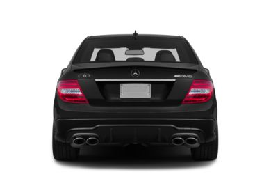 Rear Profile  2014 Mercedes-Benz C63 AMG