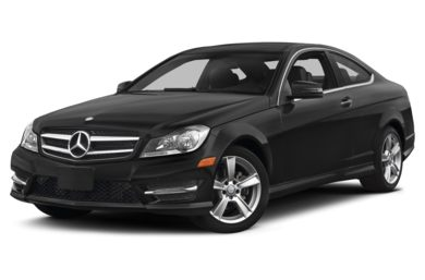 3/4 Front Glamour 2014 Mercedes-Benz C250
