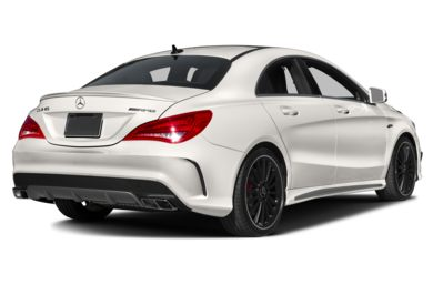 3/4 Rear Glamour  2014 Mercedes-Benz CLA45 AMG