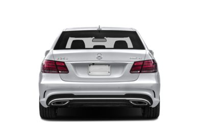 Rear Profile  2014 Mercedes-Benz E250 BlueTEC