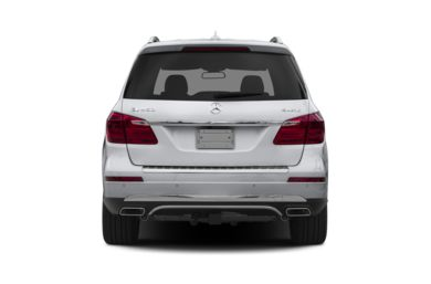 Rear Profile  2015 Mercedes-Benz GL450
