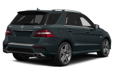 3/4 Rear Glamour  2014 Mercedes-Benz ML63 AMG