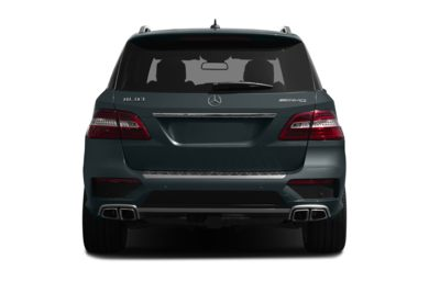 Rear Profile  2014 Mercedes-Benz ML63 AMG