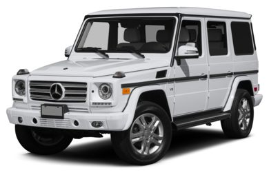 3/4 Front Glamour 2014 Mercedes-Benz G550