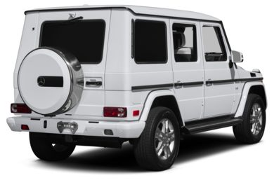 3/4 Rear Glamour  2014 Mercedes-Benz G550