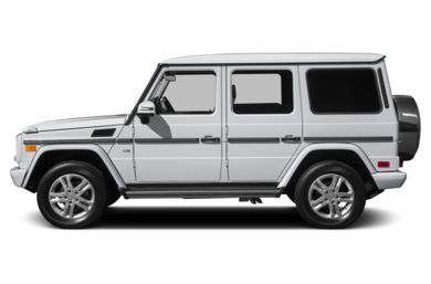 90 Degree Profile 2014 Mercedes-Benz G550