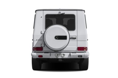 Rear Profile  2014 Mercedes-Benz G550