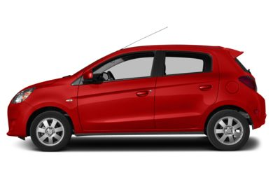 90 Degree Profile 2014 Mitsubishi Mirage