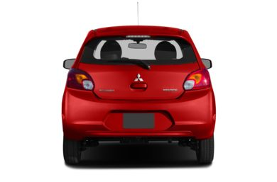 Rear Profile  2014 Mitsubishi Mirage