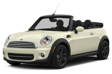 3/4 Front Glamour 2014 MINI Convertible