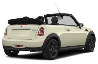 3/4 Rear Glamour  2014 MINI Convertible