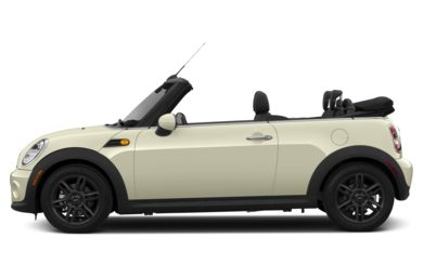 90 Degree Profile 2014 MINI Convertible