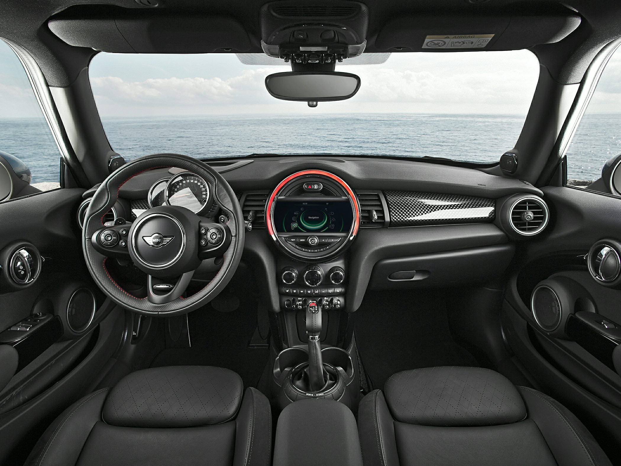 2014 Mini Hardtop Glamour Interior