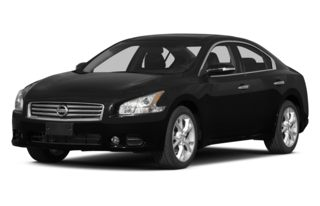 3/4 Front Glamour 2014 Nissan Maxima