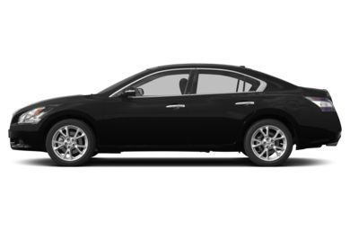 90 Degree Profile 2014 Nissan Maxima