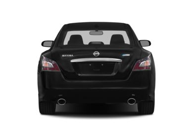 Rear Profile  2014 Nissan Maxima