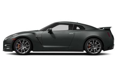 90 Degree Profile 2014 Nissan GT-R