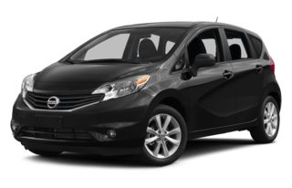 3/4 Front Glamour 2014 Nissan Versa Note