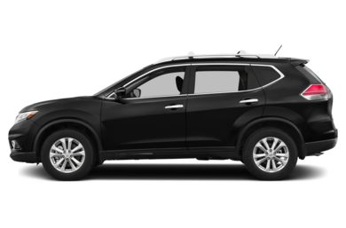 90 Degree Profile 2016 Nissan Rogue