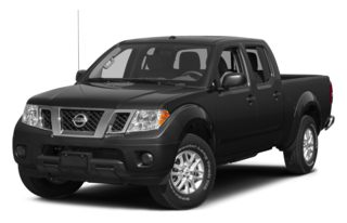 3/4 Front Glamour 2014 Nissan Frontier