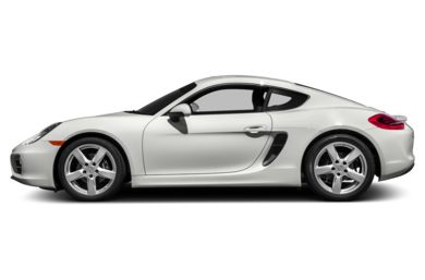 90 Degree Profile 2015 Porsche Cayman