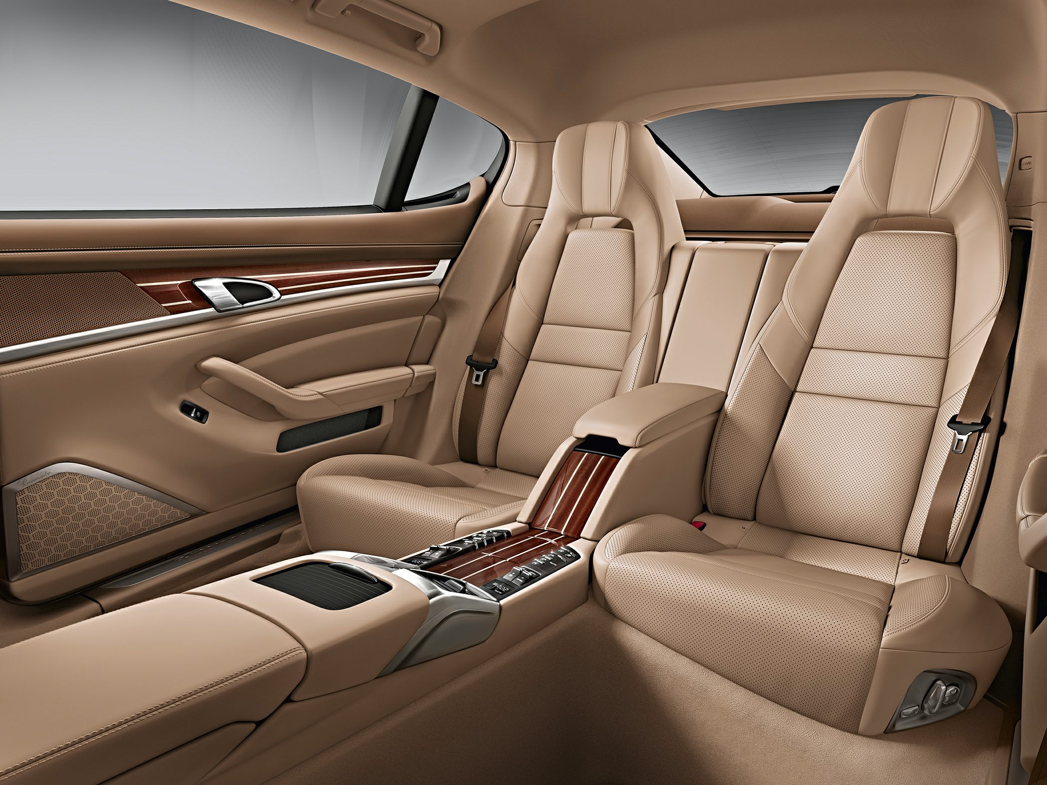 Porsche Panamera Backseat