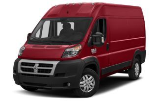 3/4 Front Glamour 2014 RAM ProMaster 2500
