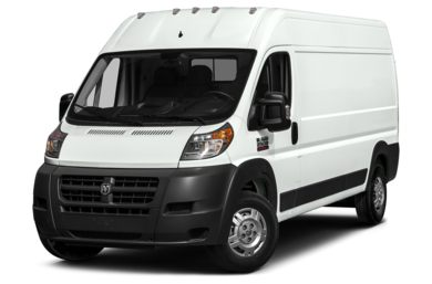 3/4 Front Glamour 2014 RAM ProMaster 3500