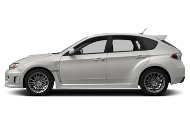 90 Degree Profile 2014 Subaru Impreza WRX