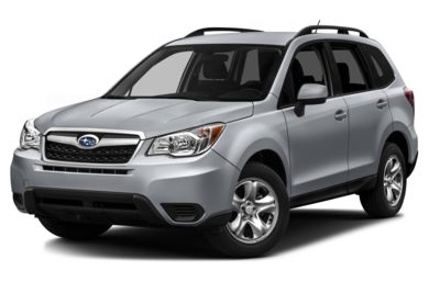 3/4 Front Glamour 2014 Subaru Forester