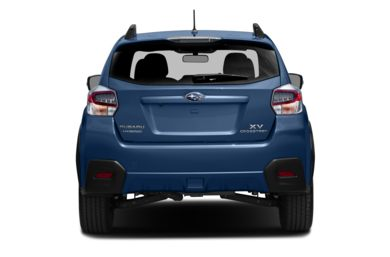Rear Profile  2014 Subaru XV Crosstrek Hybrid