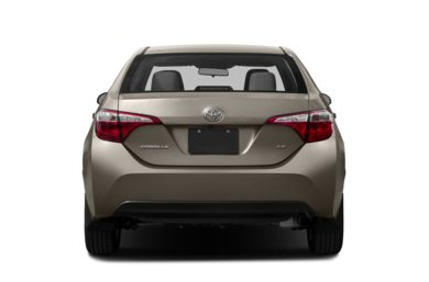 Rear Profile  2015 Toyota Corolla