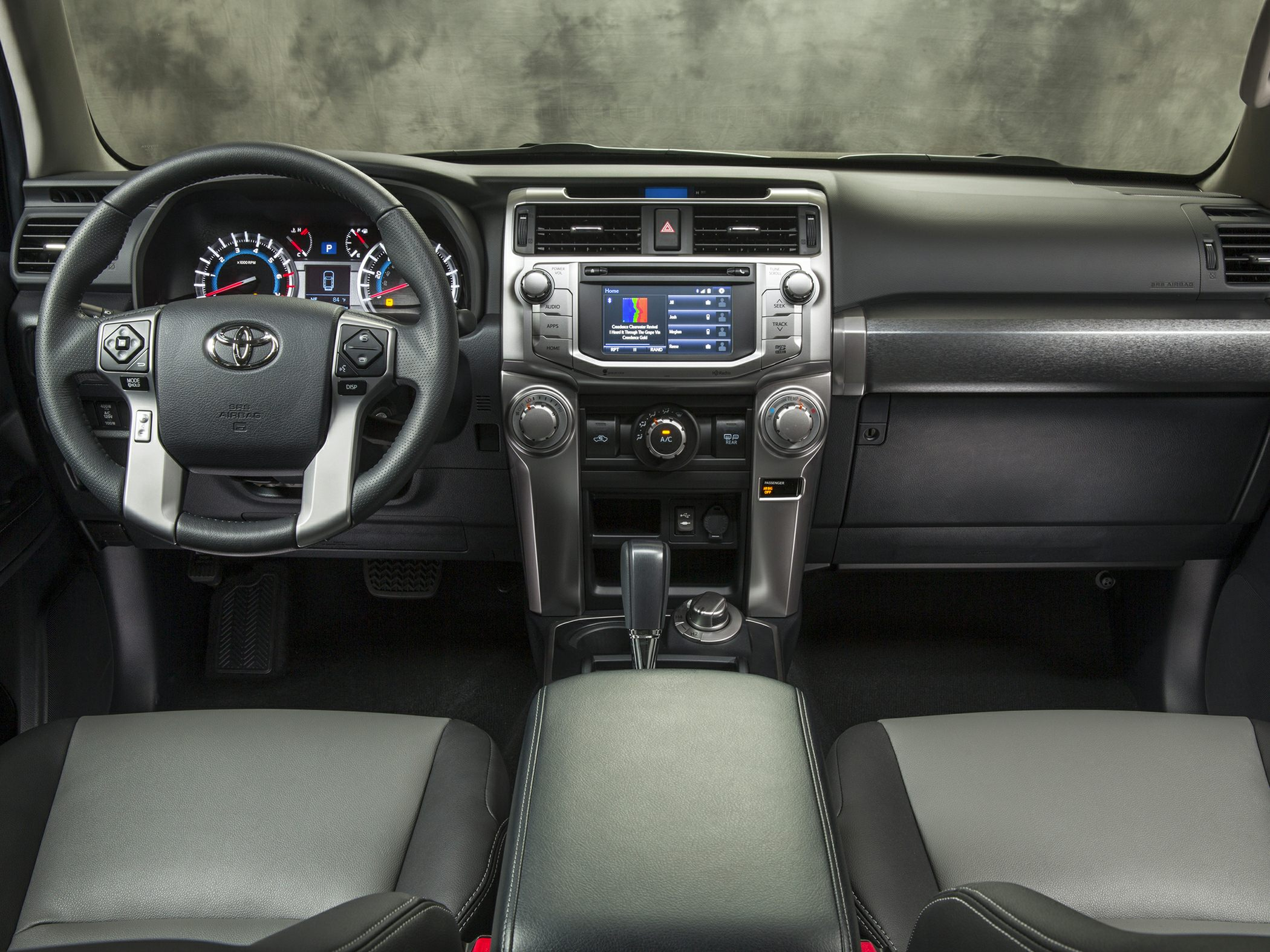 2016 toyota 4runner styles & features highlights