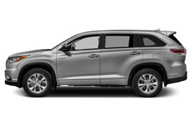 90 Degree Profile 2014 Toyota Highlander Hybrid