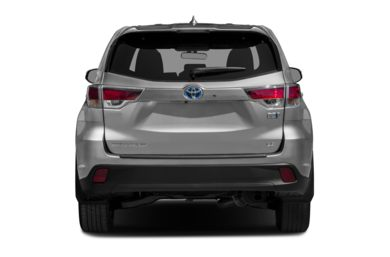 Rear Profile  2015 Toyota Highlander Hybrid