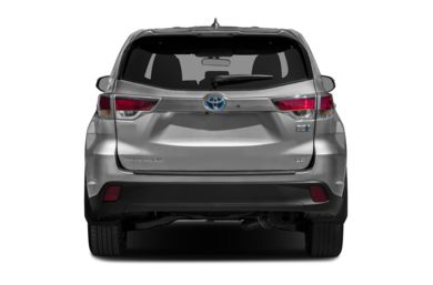 Rear Profile  2014 Toyota Highlander Hybrid