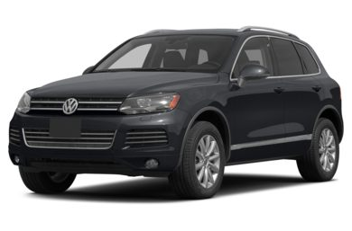 3/4 Front Glamour 2014 Volkswagen Touareg